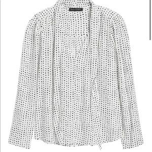 Banana Republic Print Blouse